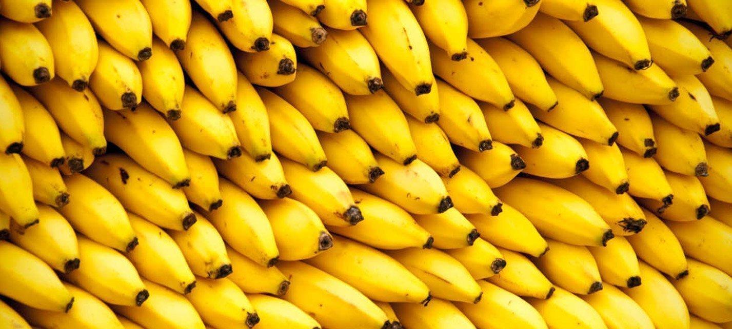 Plátanos, la mejor fruta para los jugadores de pádel