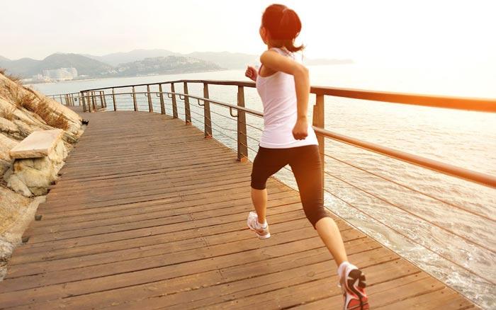 Actividades paralelas como el running te ayudarán en la práctica del pádel
