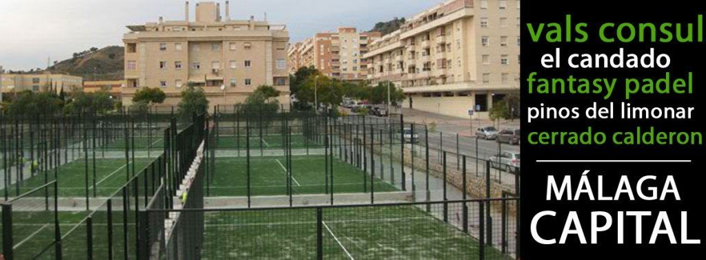 Clubs de padel en Málaga capital