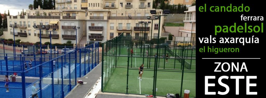 Pistas de padel en Málaga Este