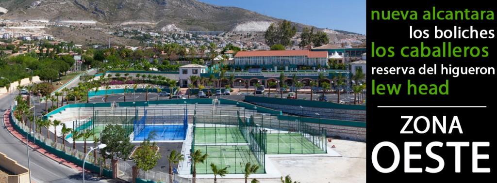 Pistas de padel en Málaga Oeste