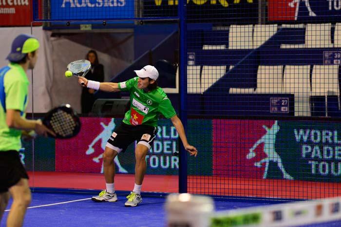 Juani Mieres y Chico Gomes permanecen con opciones en el Master Finals