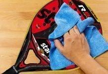 Cómo cuidar tu pala de padel