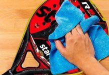 Cómo cuidar tu pala de pádel