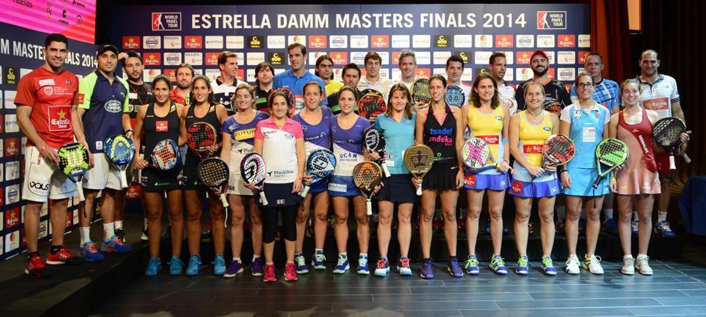 Sorteo del Estrella Damm Master Finals