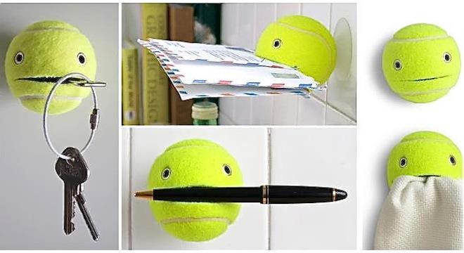 Usos de pelotas usadas para tu hogar