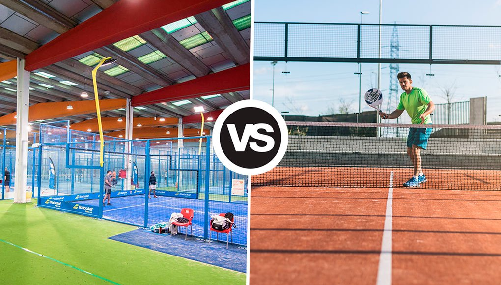 medianoche Actriz atmósfera  Indoor or outdoor paddle tennis courts? What do you prefer to play?