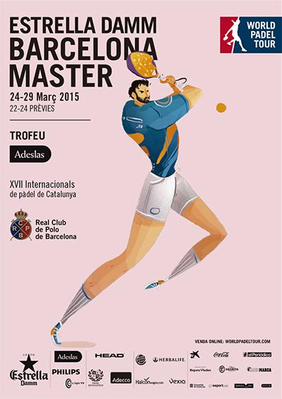 Cartel Estrella Damm Barcelona Master