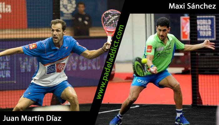 Juan Martín Díaz y Maxi Sánchez, nueva pareja para el resto del año