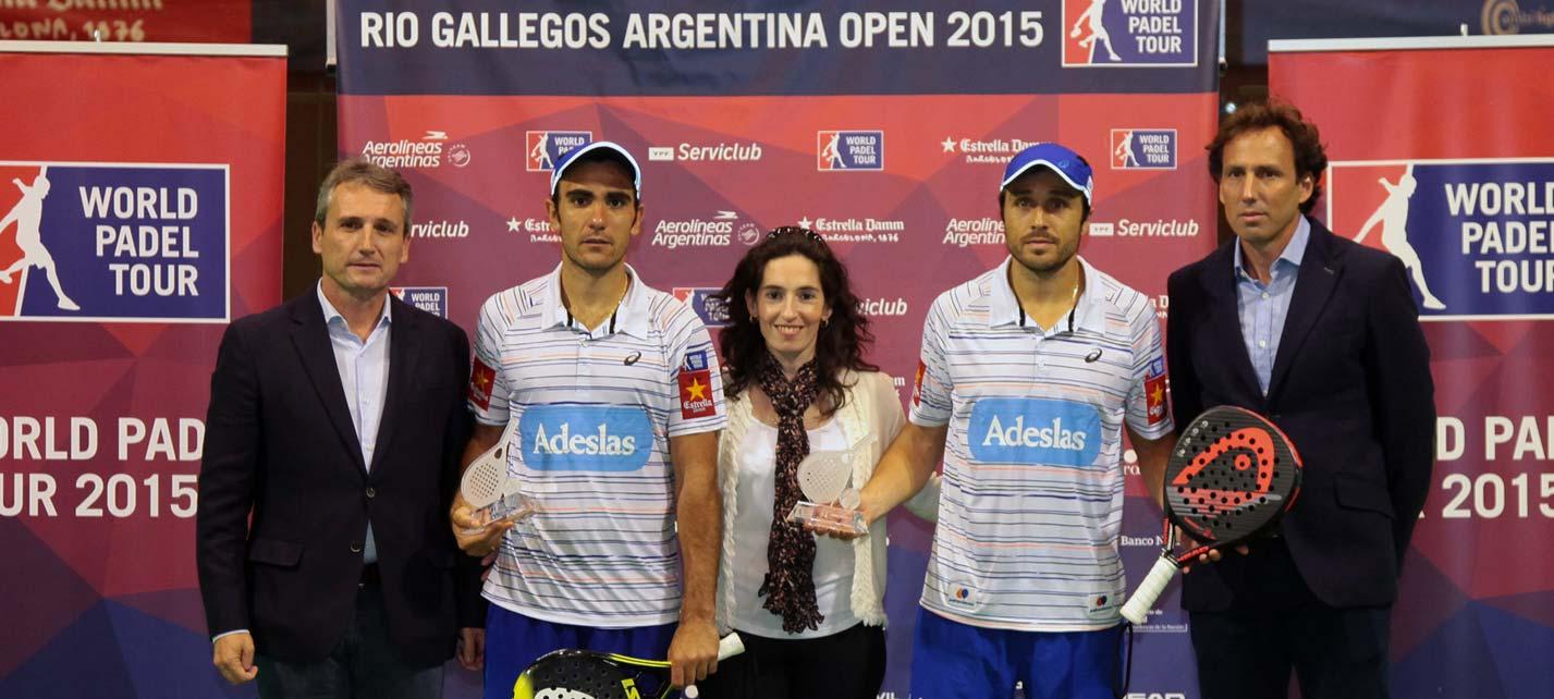 Bela y Lima ganan la final del Río Gallegos Open