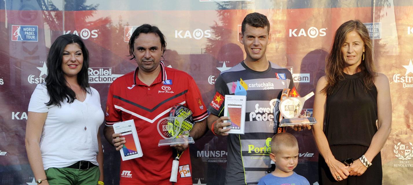 Godo Díaz y Ramiro Moyano se despiden ganando el Madrid Challenger