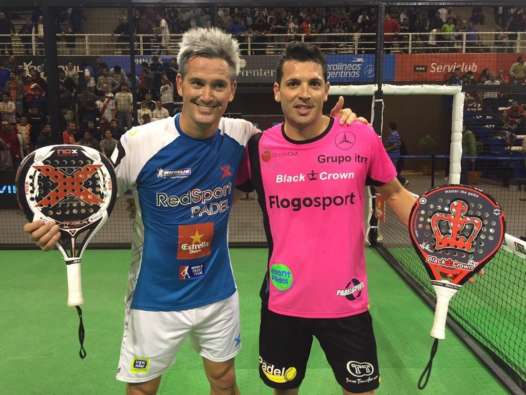 Lamperti y Allemandi impusieron su juego ante Cepero y Escalante