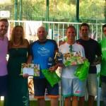 Campeones de 3ª masculina: David Castro y Juan Carlos Almansa
