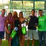 Subcampeonas de 3ª femenina: Sofia Mena y Rocio Evangelista