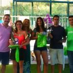 Ganadoras de 3ª femenina: Conchi Urbano y María Moreno