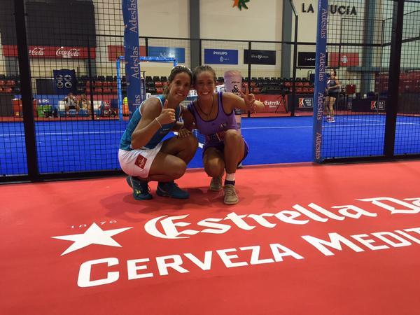 Martita Ortega y Lucía Sainz se han clasificado para las semifinales de La Nucia Open