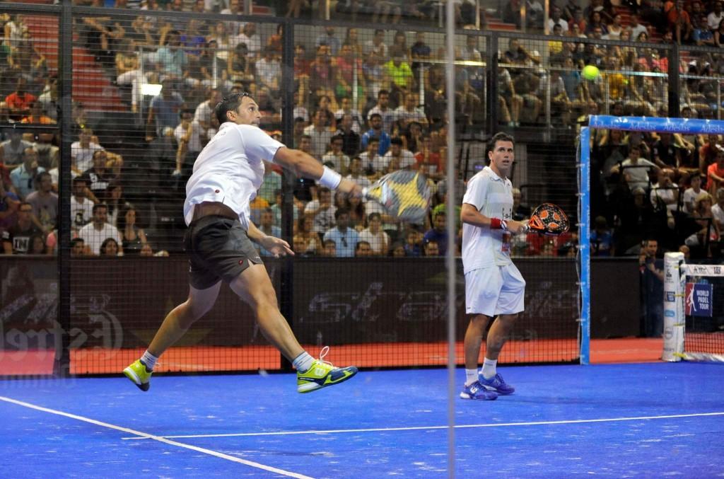 Matías Díaz y Paquito Navarro se llevaron en dos sets su partido de cuartos