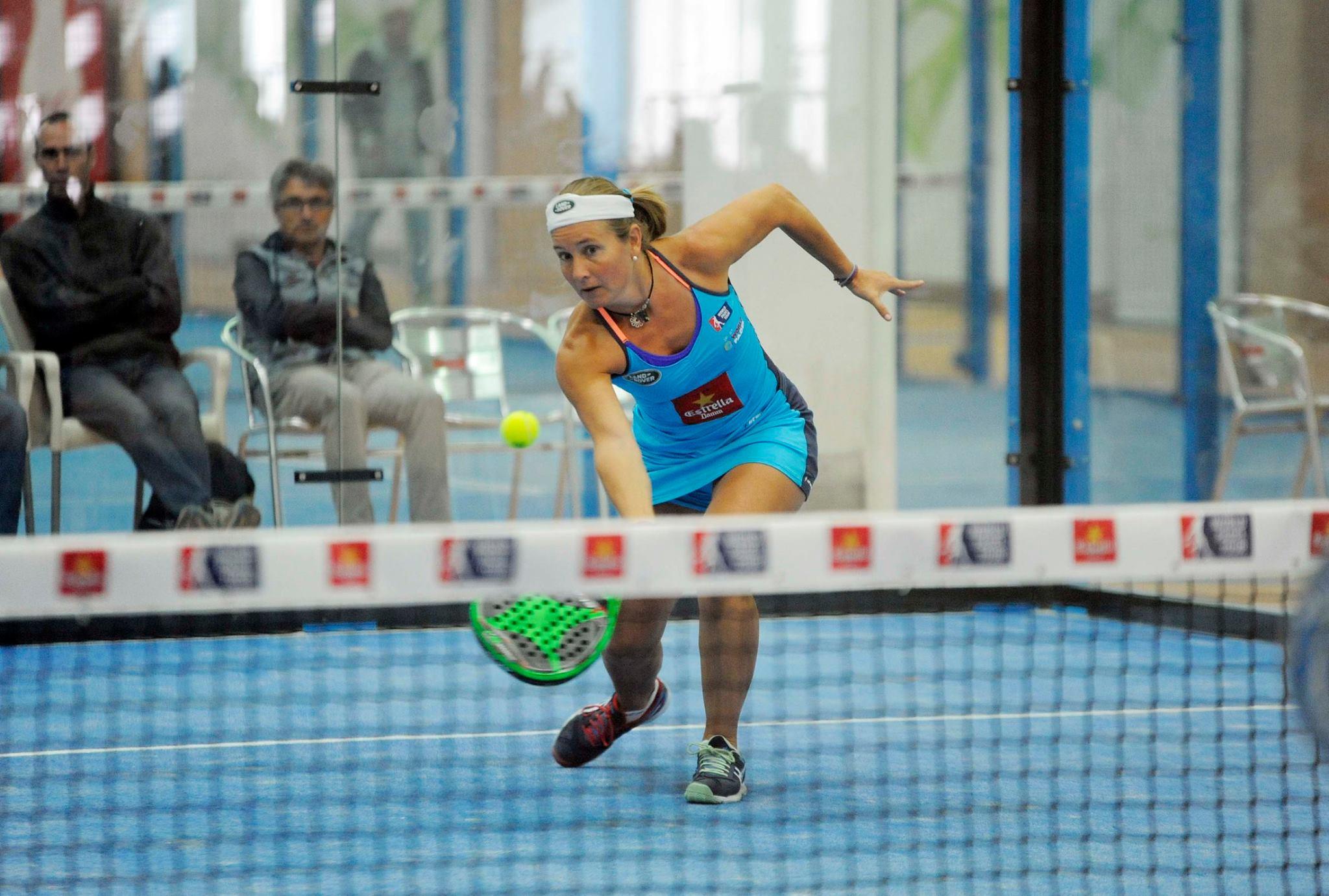 Carolina Navarro y Ceci Reiter dieron la sorpresa tras ganar a Amatriain - Llaguno