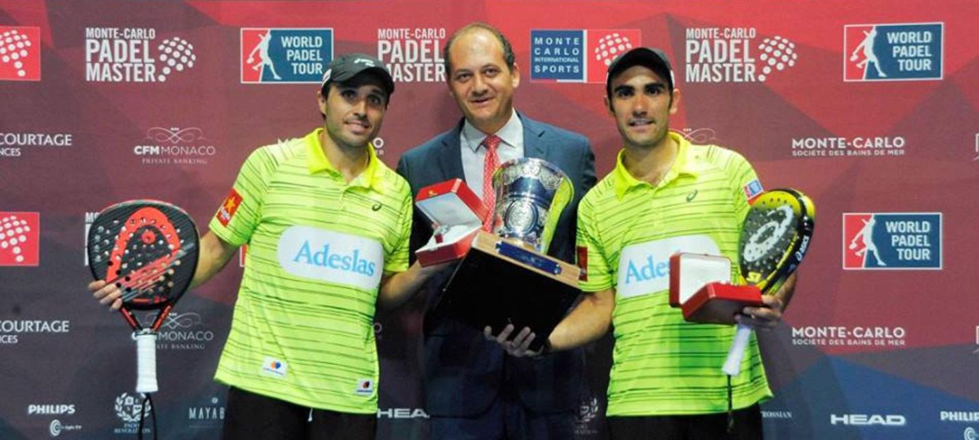 Bela y Lima salen victoriosos del Monte-Carlo Padel Master