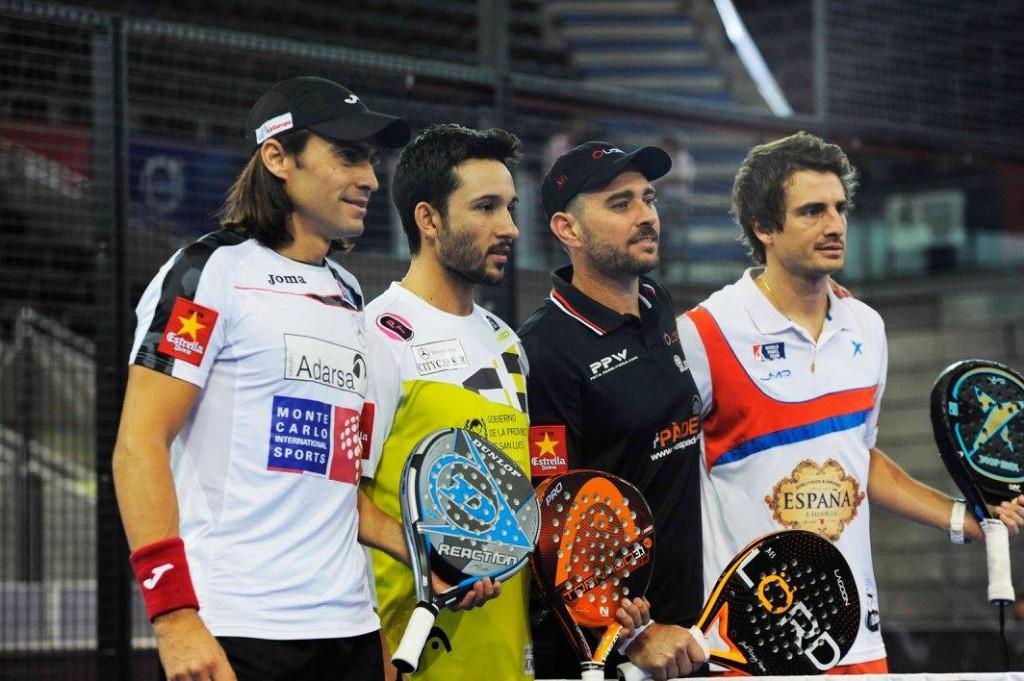 El partido entre Mieres - Sanyo y Muñoz - Quiles dejo muchos puntos de calidad