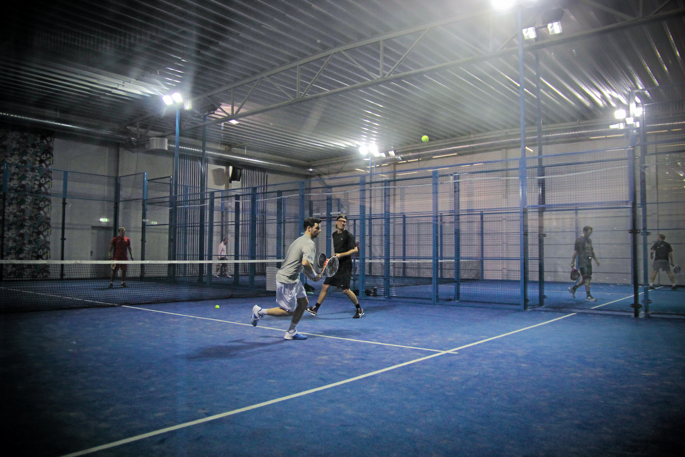 Pistas de pádel en Suecia / Padel courts in Sweden (Foto/Photo: http://www.hd.se/)