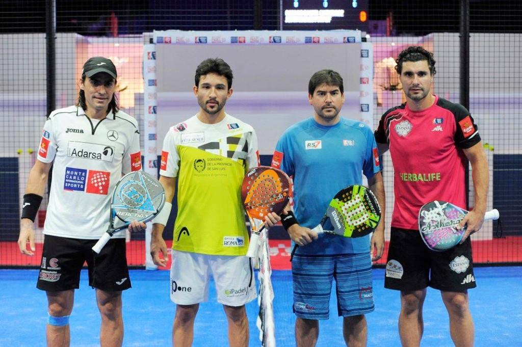 Sanyo y Juani Mieres resolvieron en tres sets su partido