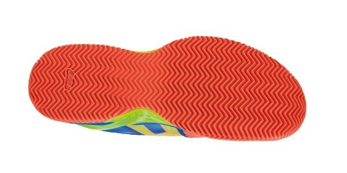 Zapatillas de pádel con suela de espiga