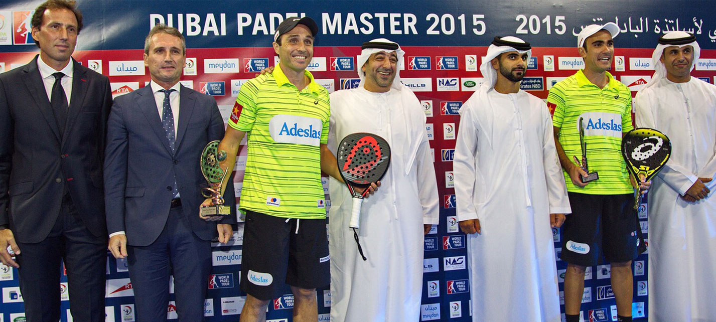 Las mejores parejas masculina y femenina ganan en Dubai