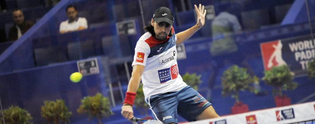 Juani Mieres y su compañero Sanyo Gutiérrez tuvieron que remontar en su partido de cuartos