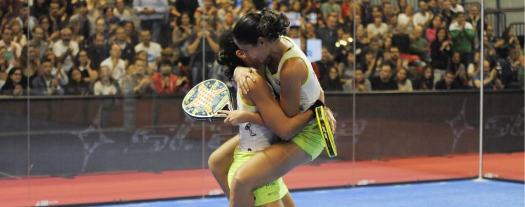 Majo y Mapi están demostrando un nivel superior al resto de parejas en el circuito femenino