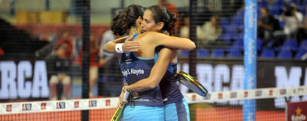 Majo y Mapi partirán como favoritas en la final del Galicia Open