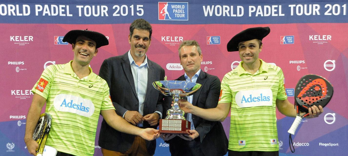 Bela y Lima salen como ganadores del Euskadi Open