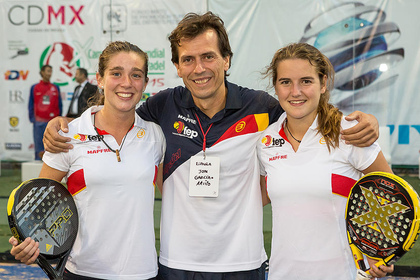 Marta Ortega y Ariana Sánchez, campeonas del mundo junior
