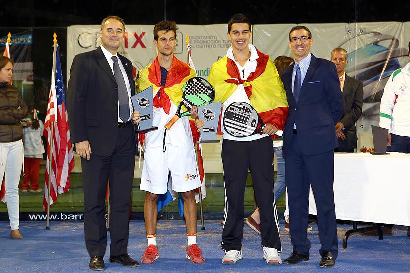 Momo González y Jose Carlos Gaspar, campeones del Mundo Junior