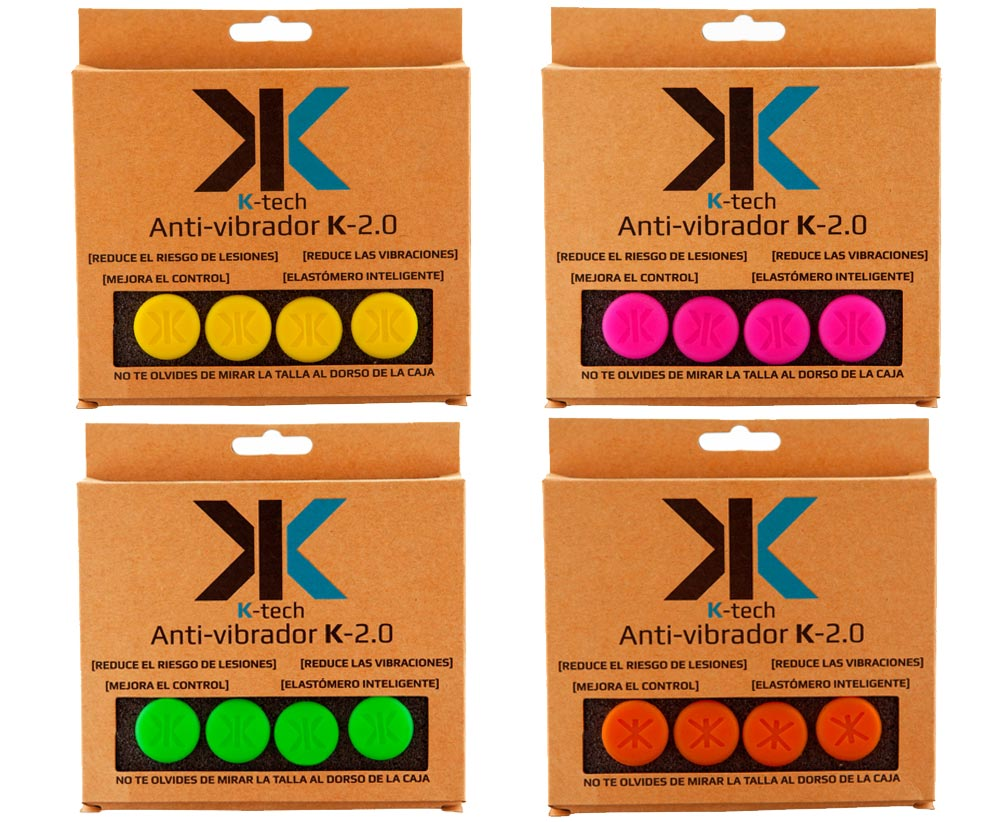 Los antivibradores K-2.0 se presentan en varios colores