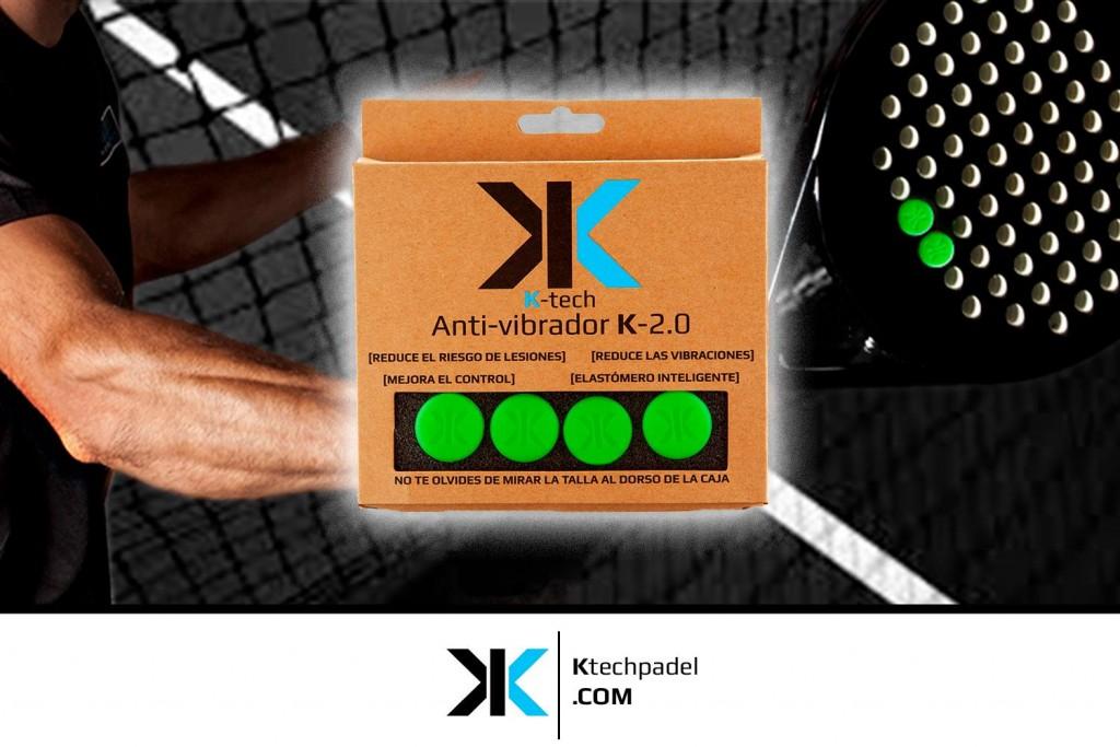 Cuida tu codo usando los antivibradores K-2.0