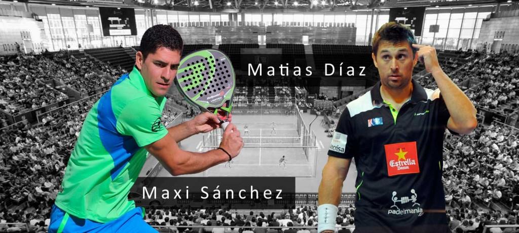 Matías Díaz y Maxi Sánchez