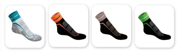 Calcetines con refuerzos específicos para la práctica del pádel