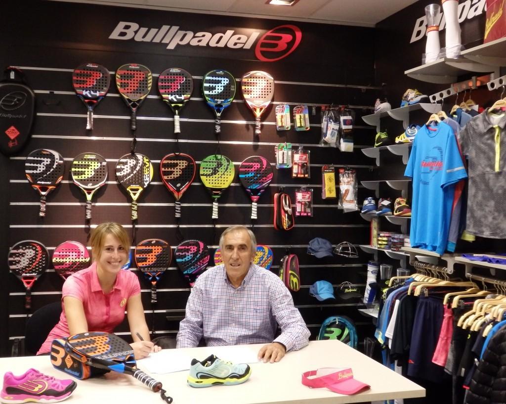 Victoria Iglesias jugará con Bullpadel en 2016