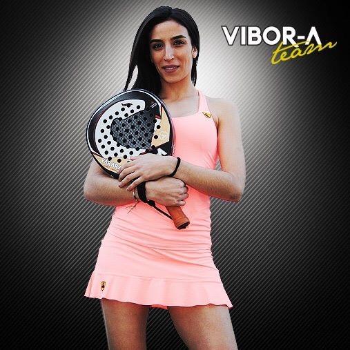 Verónica fichó este año por la marca Vibora