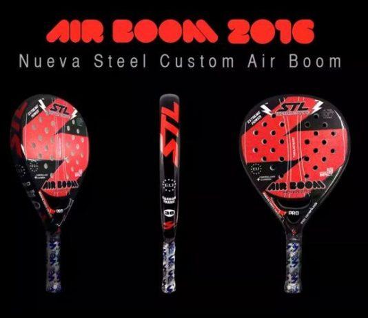 Análisis de la pala de pádel Steel Custom Air Boom 2016