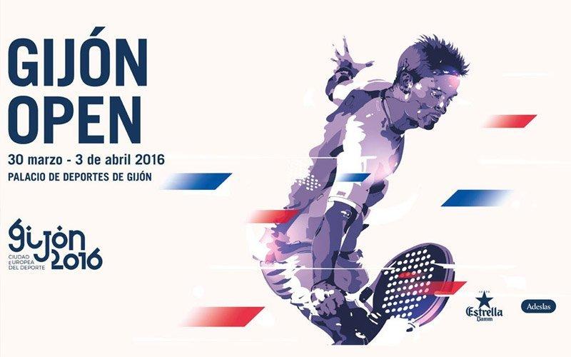 Ya se conocen los cruces del Gijón Open