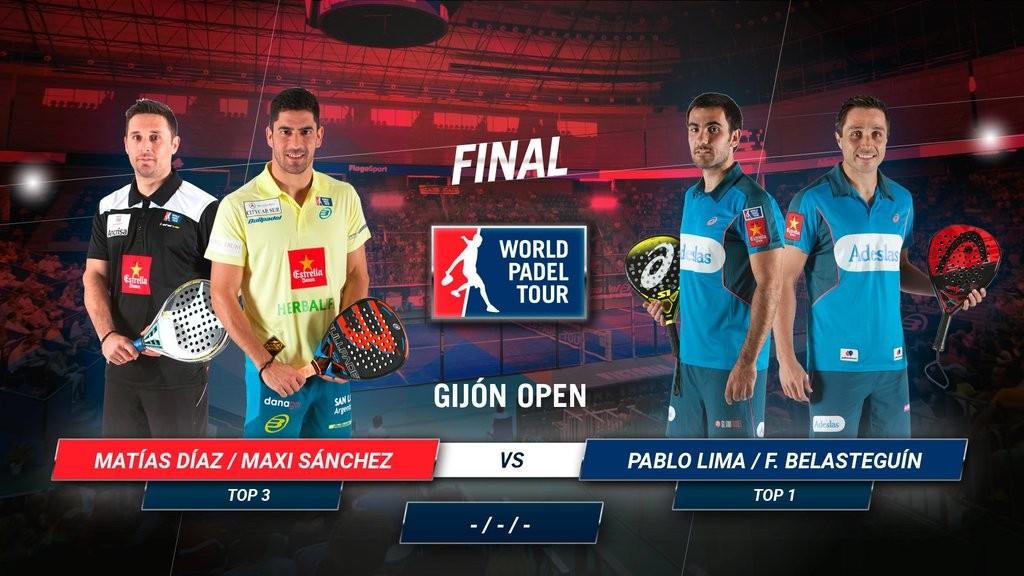 La gran final del Gijón Open se jugará a las 12 de la mañana