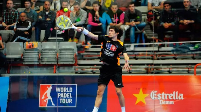 Franco Stupaczuk asciende 9 puestos en el ranking World Padel Tour
