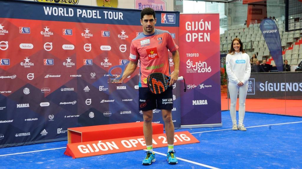 Maxi Sánchez fue designado MVP del Gijón Open