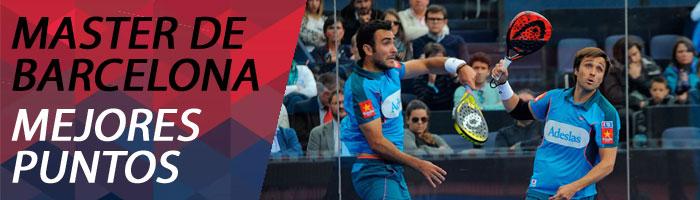 Mejores puntos del Master de Barcelona