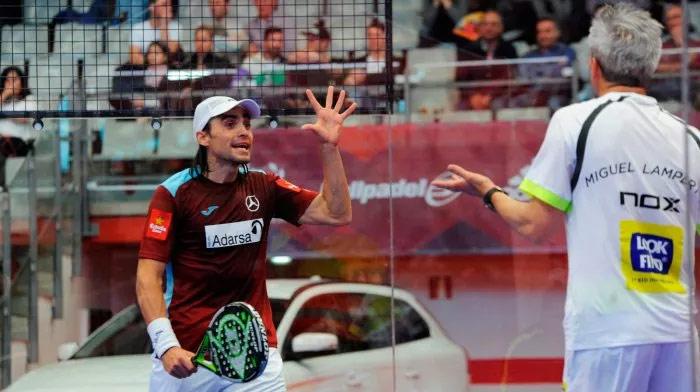 Mieres y Lamperti sufrieron para llevarse su partido de cuartos del Gijón Open