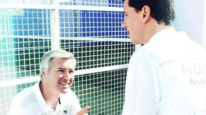 Ramiro Choya da su visión de la actuación de Sanyo y Paquito en el Gijón Open