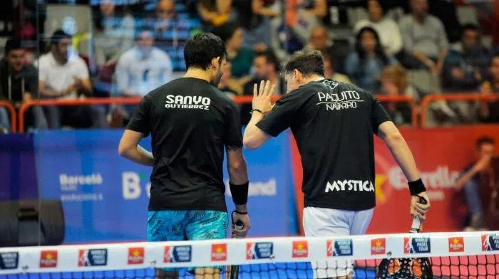 Paquito y Sanyo ya están a un paso de la final