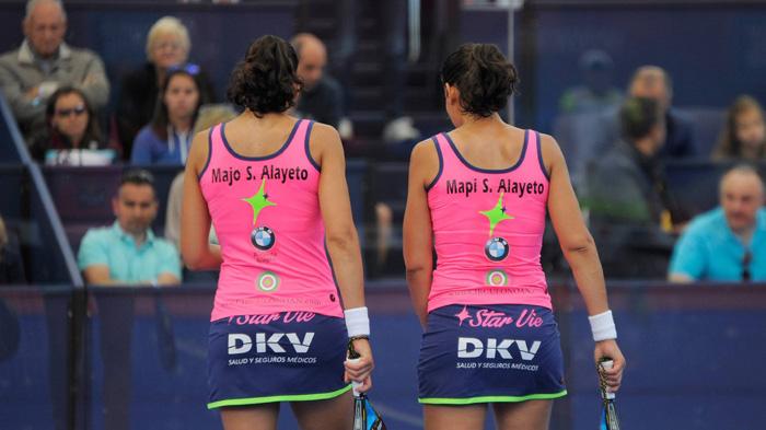 Majo y Mapi vuelven a una final tras su tropiezo en Barcelona